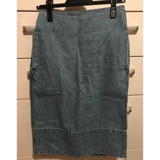 マディソンブルー(MADISONBLUE)のマディソンブルー デニムタイトスカート(ひざ丈スカート)