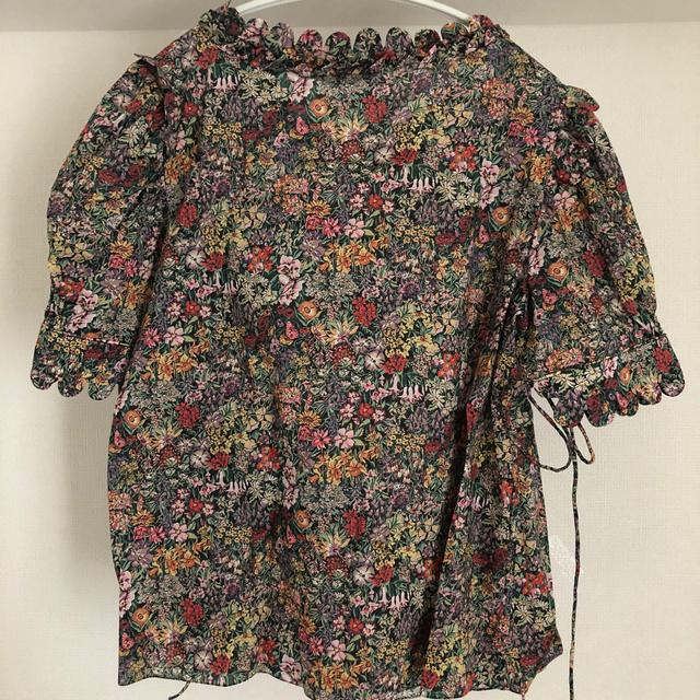Drawer(ドゥロワー)のDrawer購入インポートブラウス レディースのトップス(シャツ/ブラウス(半袖/袖なし))の商品写真