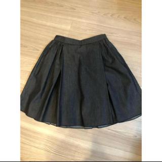ミュウミュウ(miumiu)のクリーニング済 miumiu  スカート(ひざ丈スカート)