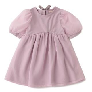 petit main - バルーン袖ワンピース