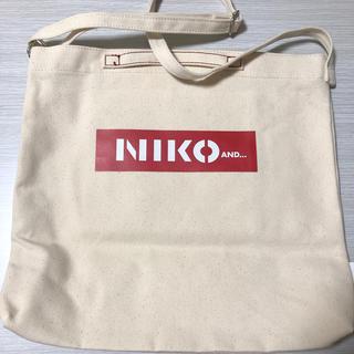 niko and... - MILKFED.×NIKO AND... コラボ トートバック