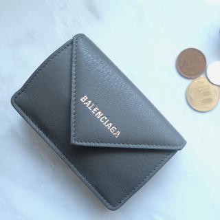 バレンシアガ(Balenciaga)のバレンシアガ BALENCIAGA ミニ財布 ペーパー ミニ 三つ折り財布 (財布)