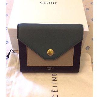 celine - セリーヌ スモール 3つ折り 財布 コンパクトウォレット