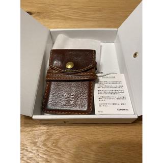 ヴィスヴィム(VISVIM)のVISVIM VEGGIE CARD CASE ライトブラウン(その他)