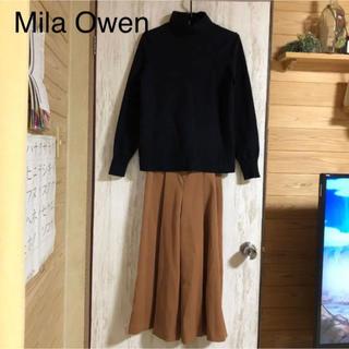 Mila Owen - Mila Owen タートルニットドッキングオールインワン