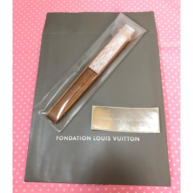 LOUIS VUITTON - 【新品 紙袋付】LOUIS VUITTON 扇子フォンダシオンルイヴィトンの通販