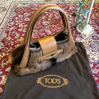 トッズ(TOD'S)のTOD'S トッズ バッグ ファー(ハンドバッグ)