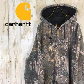 carhartt - carhartt カーハート リアルツリー 迷彩柄 ジップ パーカー メキシコ製