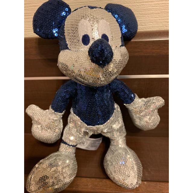 Disney(ディズニー)の!断捨離特別セール中!早いもの勝ち!スパンコールミッキー エンタメ/ホビーのおもちゃ/ぬいぐるみ(キャラクターグッズ)の商品写真