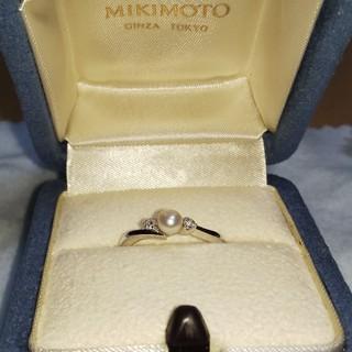 ミキモト(MIKIMOTO)のミキモト リング パール(リング(指輪))