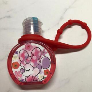 ディズニー(Disney)のハンドジェル アルコール洗浄剤 ミニーちゃん(アルコールグッズ)