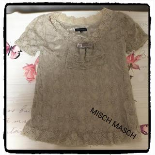 ミッシュマッシュ(MISCH MASCH)のミッシュマッシュ レーストップス(シャツ/ブラウス(半袖/袖なし))