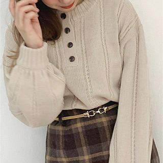 merlot - アプレジュール apresjour ニット セーター