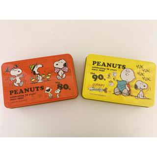 PEANUTS - スヌーピー 空き缶