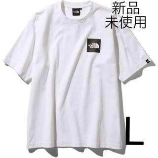 THE NORTH FACE - 新品 ホワイト L  ボックスロゴ Tシャツ ノースフェイス NT81930