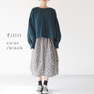 merlot - 春の新作*fillil バルーンスカート ブラック