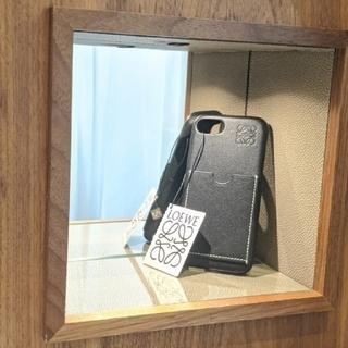 ロエベ(LOEWE)の専用ページ【新品】LOEWE iPhone7/8 ブラック iPhoneケース(iPhoneケース)