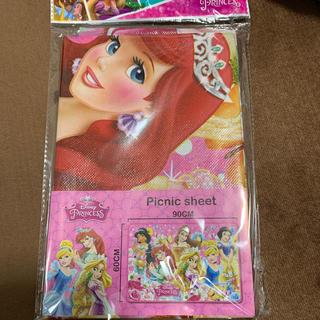 ディズニー(Disney)のラスト☆ ディズニー プリンセス レジャーシート ピンク(その他)