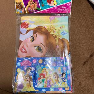 ディズニー(Disney)のラスト☆ プリンセス レジャーシート ブルー ②(その他)