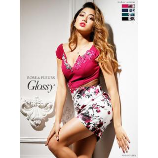 ローブ(ROBE)のローブドフルール グロッシー ドレス ROBE de FLEURS Glossy(ナイトドレス)