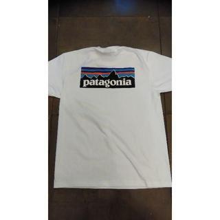 patagonia - patagonia パタゴニア半袖T シャツ P-6LOGO ボックス 白
