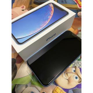 iPhone - 【新品】iPhoneXR128GB Blue シムフリー