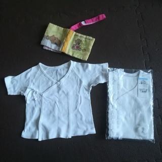 コンビミニ(Combi mini)のコンビミニ 短肌着セット 新生児 新品(肌着/下着)