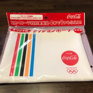 コカコーラ(コカ・コーラ)のコカコーラ オリジナル クッションポーチ(ノベルティグッズ)