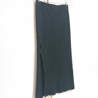 アナップ(ANAP)の♥️特別出品♥️ANAP 黒ニットタイトスカート(ロングスカート)