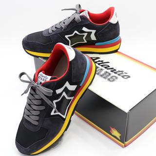 BEAMS - 新品 アトランティックスターズ 箱付き スニーカー アンタレス ブラック 革靴
