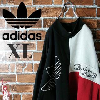 アディダス(adidas)の【ビッグサイズ】【刺繍ロゴ】アディダスオリジナルス☆スウェット トレーナー(スウェット)