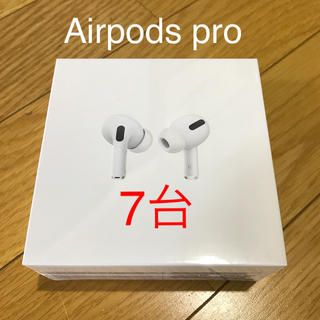 Apple - Airpods pro MWP22J/A 7台