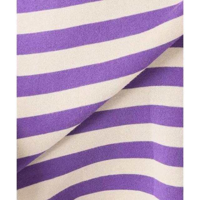 FRAMeWORK(フレームワーク)のフレームワークFRAMeWORK ORCIVAL40/2ボーダーTシャツ レディースのトップス(Tシャツ(長袖/七分))の商品写真