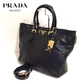PRADA - 【正規品】PRADA ✨プラダ レザー 2wayバッグ