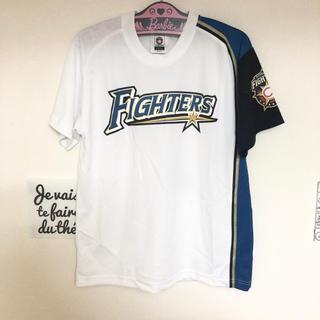 ホッカイドウニホンハムファイターズ(北海道日本ハムファイターズ)の美品 FIGHTERS ♡ 杉谷拳士 ユニフォーム Tシャツ 2(スポーツ選手)