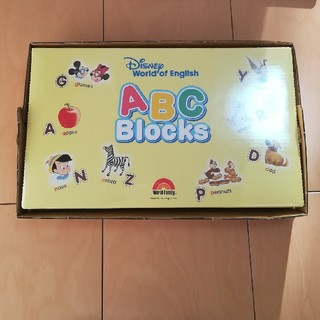 Disney - 【新品未開封】ABC ブロック DWE