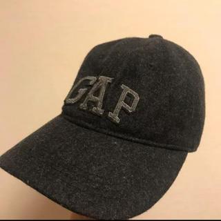 ギャップ(GAP)のキャップ 羊毛 古着 ベースボールギャップ(キャップ)