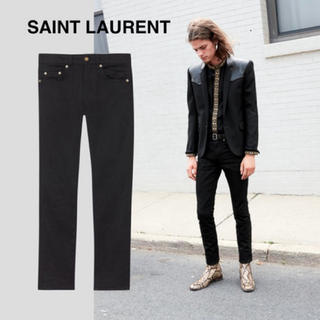Saint Laurent - サンローランパリ スキニーデニム 黒 31