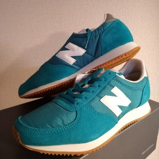 New Balance - 新品★ニューバランス 25cm グリーン WL220