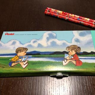 ぺんてるくれよん&カーズ&ミスバニー赤えんぴつ セット(クレヨン/パステル)