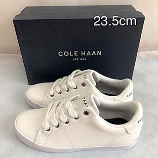コールハーン(Cole Haan)の未使用 コールハーン スニーカー 白 23.5cm COLE HAAN(スニーカー)