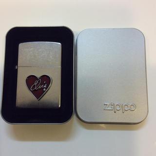 ジッポー(ZIPPO)のZIPPO ELVIS HEART (未使用、ジッポライター、エルビス・ハート)(タバコグッズ)