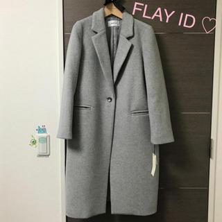 FRAY I.D - FLAY ID ロングコート  グレー