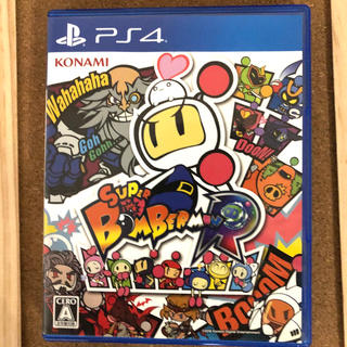 コナミ(KONAMI)のスーパーボンバーマンR PS4 美品(家庭用ゲームソフト)