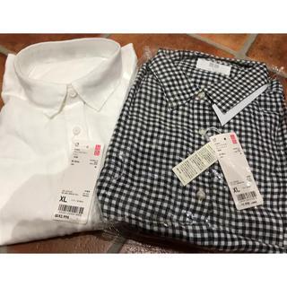 UNIQLO - XL プレミアムリネンシャツ2枚セット