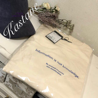 Kastane - 新作✨【Kastane】ロゴロンT フリーズロゴロンT