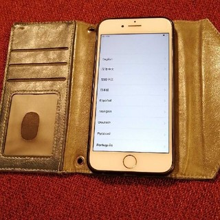 Apple - SIMフリー iPhone7 ゴールド 128gb