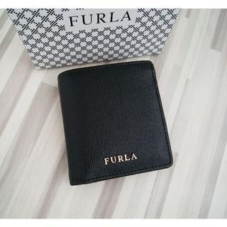 Furla - 新品 フルラ FURLA 財布 折り財布 バビロン 黒