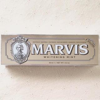 マービス(MARVIS)の新品☆マービス MARVIS   歯磨き粉 85ml   ホワイトミント(歯磨き粉)