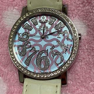Vivienne Westwood - ヴィヴィアンウエストウッド 腕時計 スクイグル ピンク ライトブルー